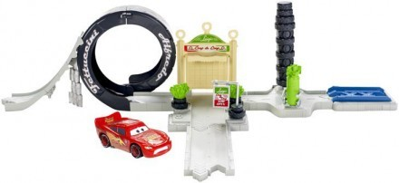 Disney Pixar Cars, Play Set, Luigi's Loop