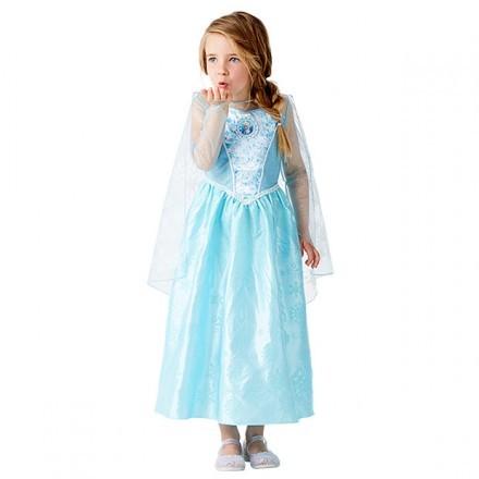 Elsa-klänning med ljus och musik, stl 104, Disney Frost
