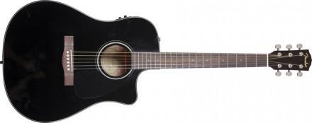 Fender CD-60 CE Svart