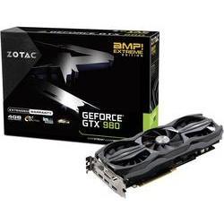 Grafikkort Zotac Nvidia? GeForce™ GTX980 AMP! Extreme 4 GB GDDR5