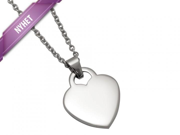 Halsband Hjärta Elise