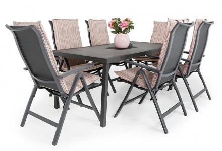 Haninge matbord med Mölndal positionsstol