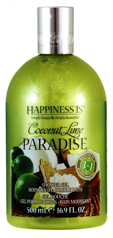Happiness is Coconut Lime Paradise 3in1 Beauty Smoothie 500ml