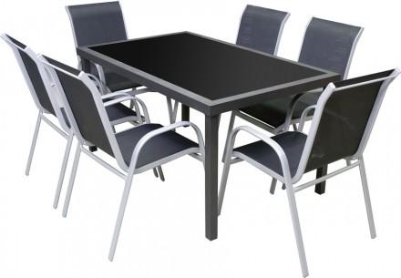 Kinna matbord med Borås stolar