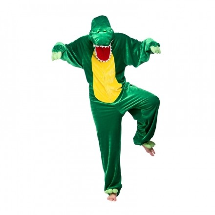 Krokodil Budget Maskeraddräkt