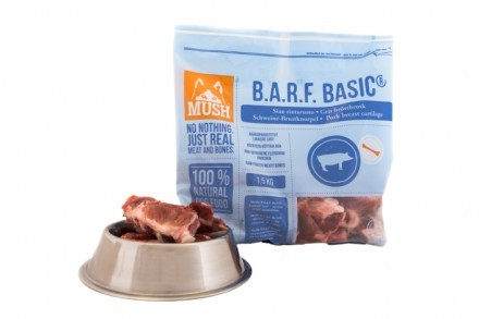 Mush BARF Basic Gris broskben 1,5 kg