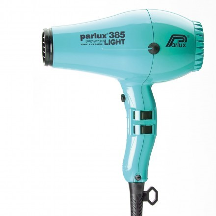 Parlux 385 Power Light - Light Blue Emerald