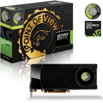 Point of View Trooper GTX 970 grafikkort, NVIDIA, 4GB GDDR5-minne, PCI-Express 3