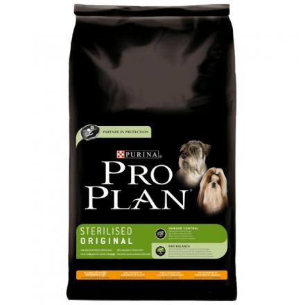 Pro Plan Dog Sterilised Original - Chicken & Rice 12kg