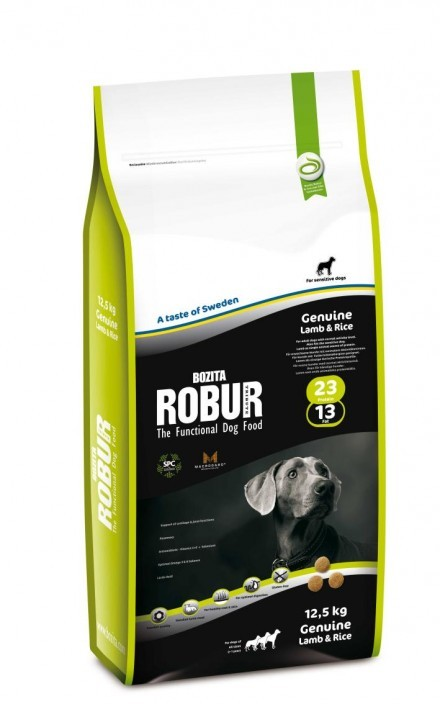 Robur Genuine Lamb & Rice 23/13 12,5 kg