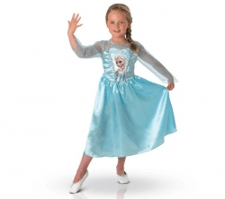 RUBIE'S Disney - Maskeraddräkt barn Elsa