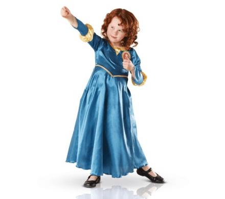 RUBIE'S Disney - Maskeraddräkt barn Modig Merida