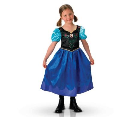 RUBIE'S Disney - Maskerraddräkt barn Anna