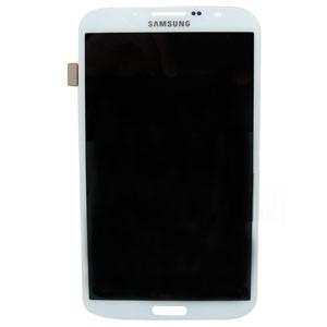 Samsung Galaxy Mega i9200 Komplett LCD Display Vit
