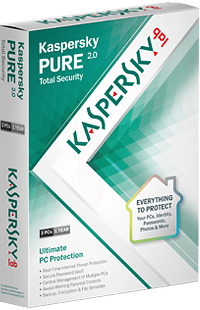SE - Base - Kaspersky Pure Total Security 2 - Download 3 PC, 1 ?r