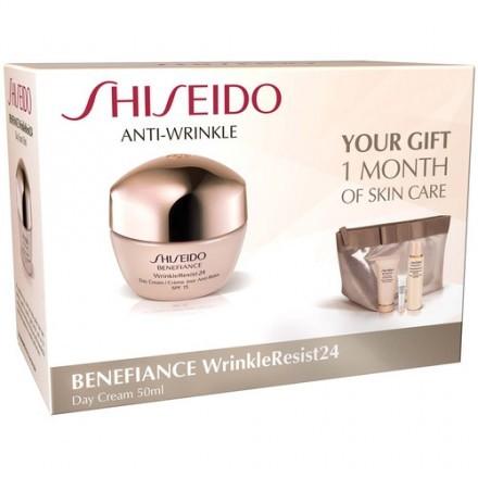 Shiseido Benefiance WrinkleResist24 Gift Bag