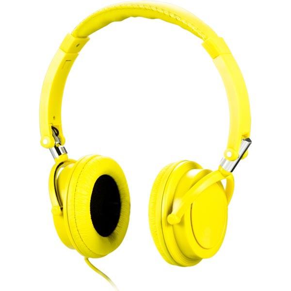Streetz Headset för Iphone – yellow