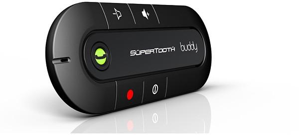 SuperTooth Buddy BT Handsfree 3in1 – Vit