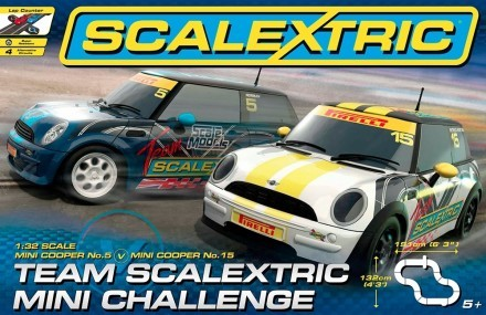 Team Scalextric Mini Challeng, Scalextric