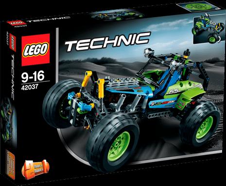 Terrängbil, Lego Technic