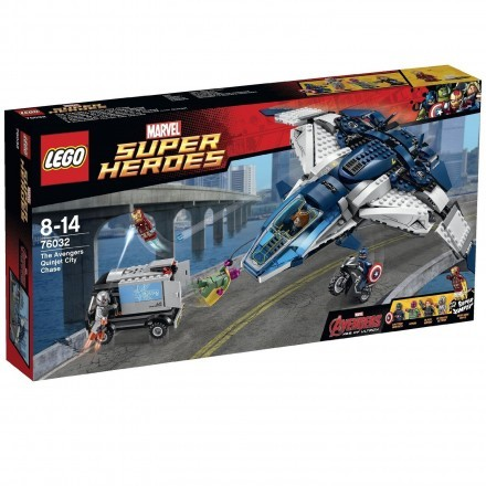 The Avengers Quinjet City Chase, Lego Super Heroes