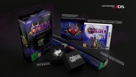 The Legend of Zelda: Majoras Mask 3D - Special Edition 3DS
