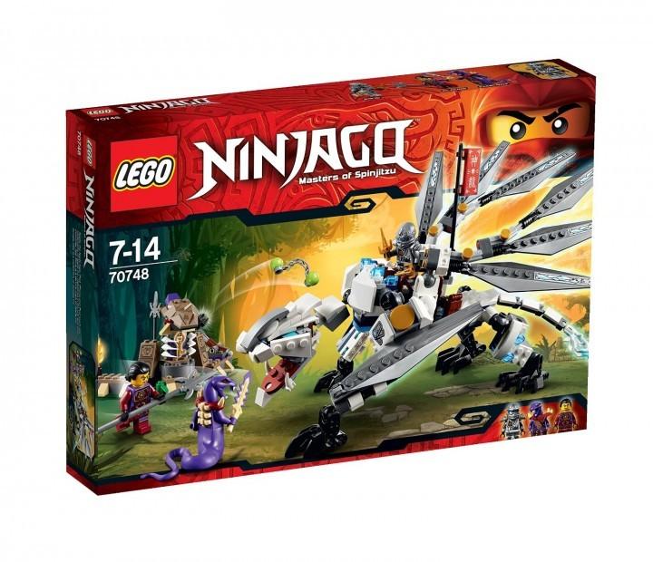 Titanium Dragon, Lego Ninjago