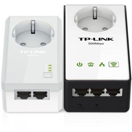 TP-LINK AV500 WiFi Powerline Extender Starter Kit, två enheter, 500Mbp