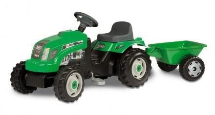 Traktor RX Bull, Grön, Smoby