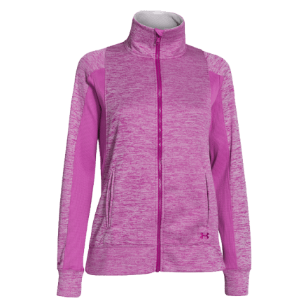 Under Armour ColdGear Infrared Full Zip Jacket, magenta shock, L