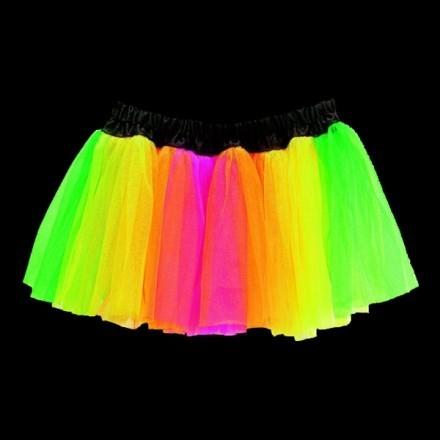 UV Neon Underkjol