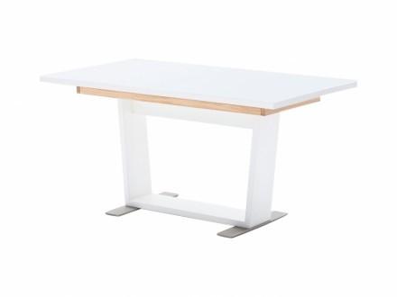 VOLA Förlängningsbart bord 160 Vit/Ek
