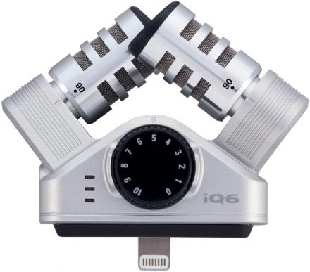 Zoom StereoMik iQ6