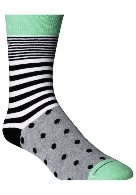 Ankle Sock BB Dot & Stripe