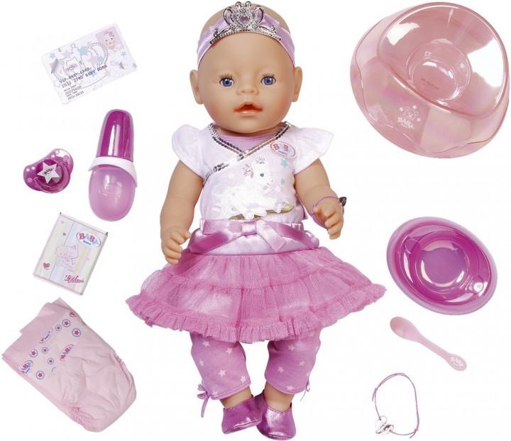 Baby Born Interaktiv Prinsessdocka, 43 cm, Zapf Creation