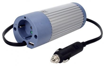 Bilkonverterare 12V/230V + USB
