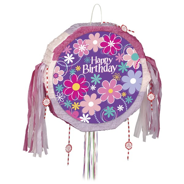 Birthday Blossom, Pinata Rund