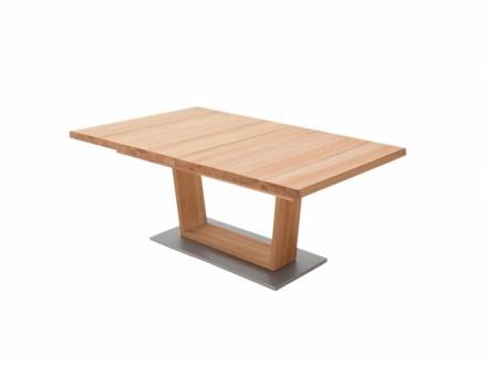 CANTANIA Förlängningsbart bord A 140 Kärnbok