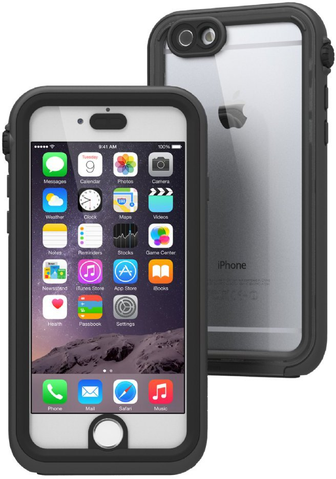 Catalyst Waterproof Case (iPhone 6) – Svart