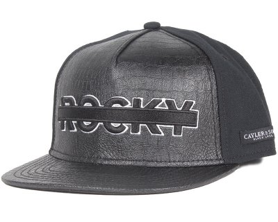 Cayler & Sons - Black Label Dolladolla Black Snapback