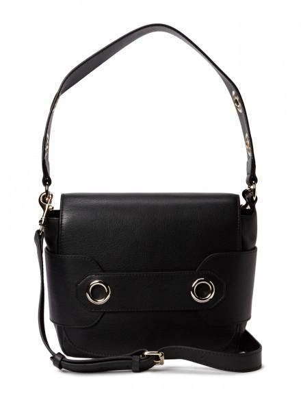Charlotte Messenger Leather