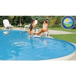 Clear Pool Åttaformig Nedgrävd 725 x 460 cm