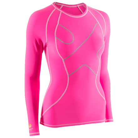 Compression High Ladies Longsleeve, pink, S