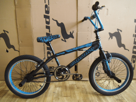 "Cykel BMX Totem 20"" Svart/Blå"