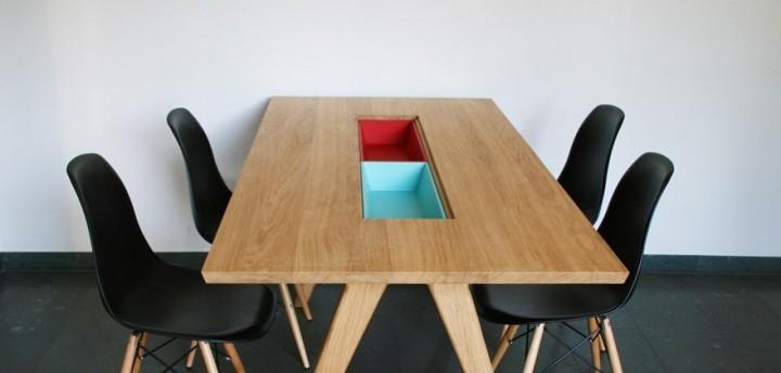Diningtable large matbord med insats