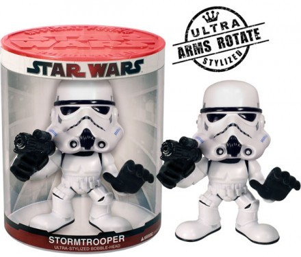 Figur - Bobble Head 12cm Storm Trooper Funko Force