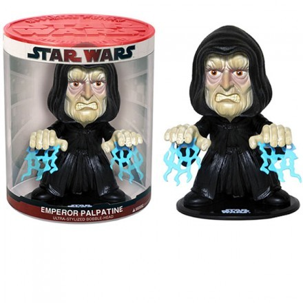 Figur - Bobble Head Kejsare Palpatine Funko Force