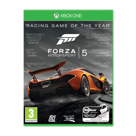 Forza Motorsport 5 Game of the Year till Xbox One