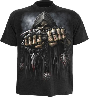Game over t-shirt (S)