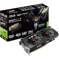 Grafikkort Asus Nvidia? GeForce™ GTX970 Strix Overclocked 4 GB GDDR5